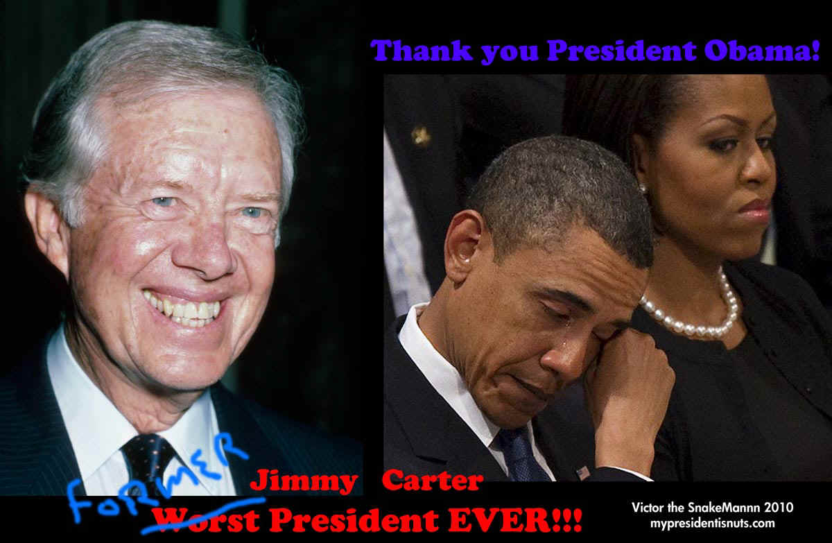 Obama I beat cater as the worst president